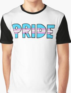 Transgender Pride Flag Graphic T-Shirt