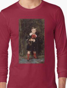 John Singer Sargent - Robert 1879. Child portrait: cute baby, kid, children, pretty angel, child, kids, lovely family, boys and girls, boy and girl, mom mum mammy mam, childhood Long Sleeve T-Shirt