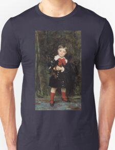 John Singer Sargent - Robert 1879. Child portrait: cute baby, kid, children, pretty angel, child, kids, lovely family, boys and girls, boy and girl, mom mum mammy mam, childhood Unisex T-Shirt
