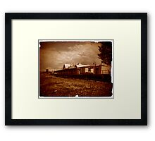 Cooma Railway Station Framed Print