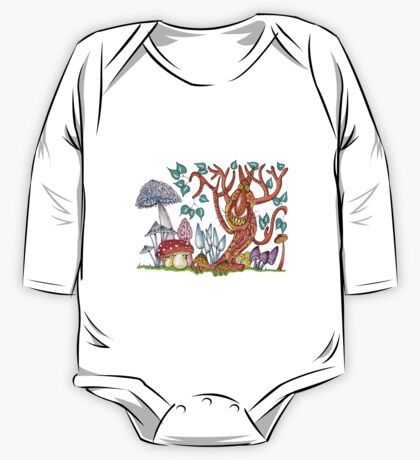 Freaky fungus forest One Piece - Long Sleeve