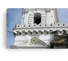 Architecture of San Francisco Church Canvas Print