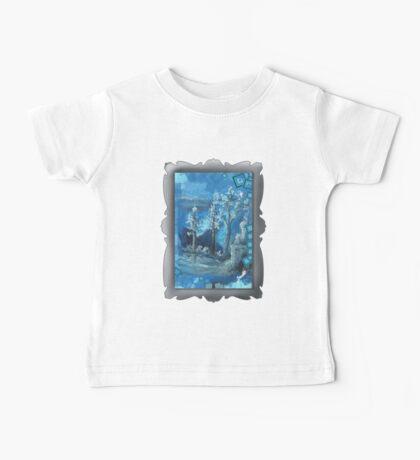 Ultramarine Natures cape     Baby Tee