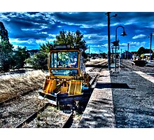 Rail Dozer Photographic Print