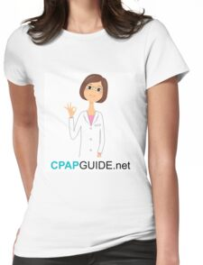 CpapGuide.net Goodies Womens Fitted T-Shirt