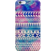 Colorful Urban Tribal Abstract Geometric Pattern iPhone Case/Skin