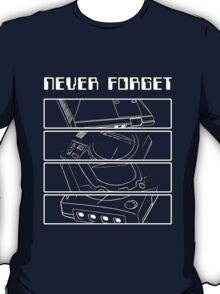 Retro Gamer - Sega: Never Forget T-Shirt