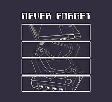 Retro Gamer - Sega: Never Forget Unisex T-Shirt