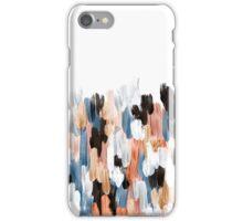 Copper Brush Strokes iPhone Case/Skin