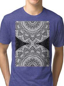 Mandala Mehndi Style Tri-blend T-Shirt