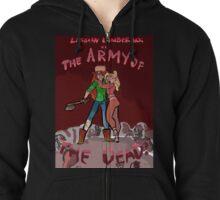 Lesbian Lumberjack vs. The Army of the Dead Zipped Hoodie