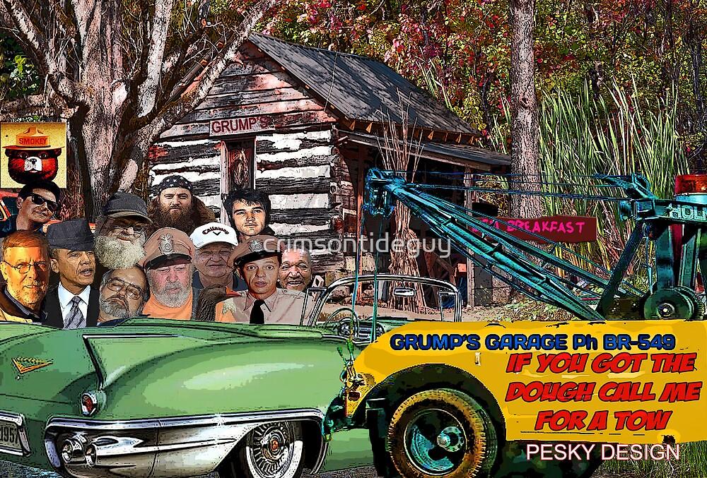 Grump's Garage II by Mike Pesseackey (crimsontideguy)