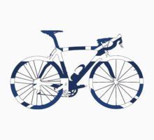 Bike Flag United Kingdom (Blue - Big) by sher00