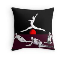 Android Dance Throw Pillow