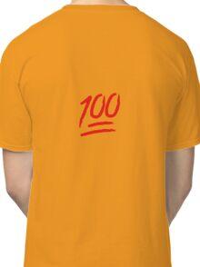 Keep It 100 Emoji. Straight Fire. Funny Emoji Leggings Tshirt. iDubbbz TV. Classic T-Shirt
