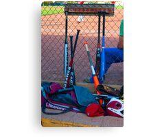 Baseball Bats Canvas Print