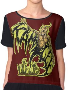 KAM LEE - RISE FROM DEATH Chiffon Top