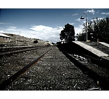 Cooma Railway Station Photographic Print