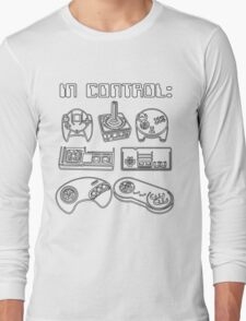 Retro Gamer - In Control Long Sleeve T-Shirt
