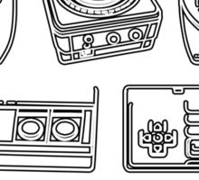 Retro Gamer - In Control Sticker