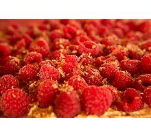 Raspberry Pavlova Photographic Print