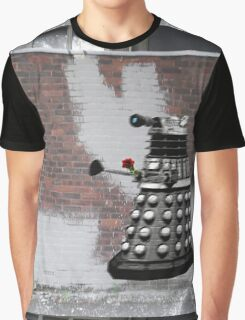 Dalek Graffiti - Banksy Style Graphic T-Shirt