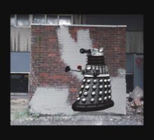 Dalek Graffiti - Banksy Style One Piece - Long Sleeve