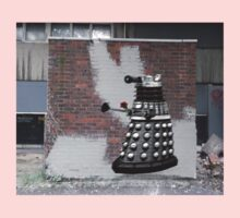 Dalek Graffiti - Banksy Style One Piece - Long Sleeve