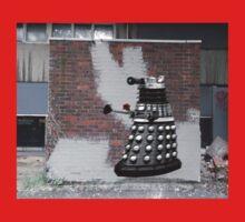 Dalek Graffiti - Banksy Style Baby Tee