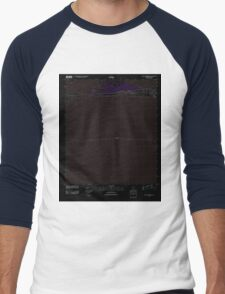 USGS TOPO Map Alabama AL Saint Andrews Bay 20110923 TM Inverted Men's Baseball ¾ T-Shirt