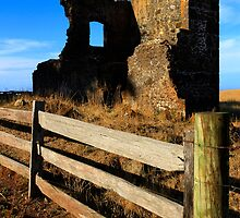 Ruin in Stanley Tasmania by Angelika  Vogel