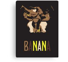 Diddy Kong - Super Smash Brothers Canvas Print