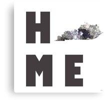 """Kentucky """"HOME"""" Canvas Print"""