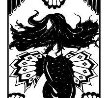 Art Deco Mermaid by Bronte Kellam