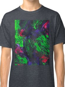 Vibrant Abstract Swatch Painting Classic T-Shirt