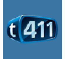t411 Logo Pixel Photographic Print