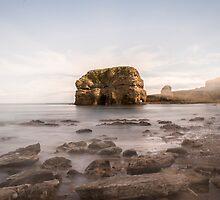 Marsden Rock Streaks by Jack Steel