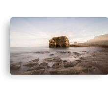 Marsden Rock Streaks Canvas Print