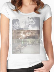 Afterword By Amelia Williams Women's Fitted Scoop T-Shirt