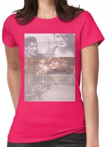 Afterword By Amelia Williams Womens Fitted T-Shirt