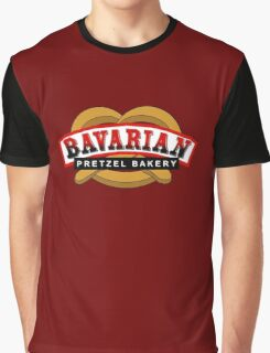 Bavarian Pretzel Logo Graphic T-Shirt