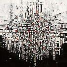 Abstract Black & White by Miroslava Balazova Lazarova