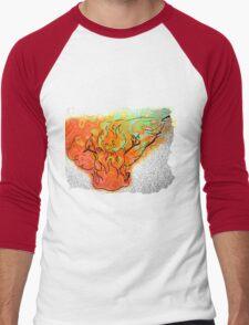 Fireman Men's Baseball ¾ T-Shirt