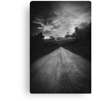 Road to nowhere... Canvas Print