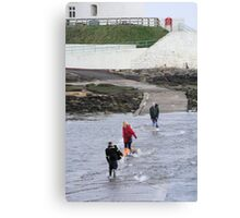 Wade For It! Canvas Print