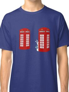 London Telephone Box and A Bunny Classic T-Shirt