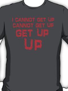 get up red big T-Shirt