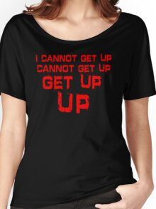 get up red big Women's Relaxed Fit T-Shirt
