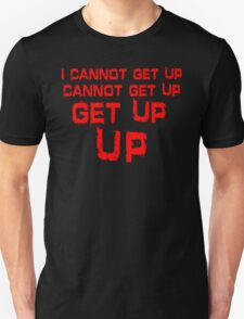 get up red big T-Shirt