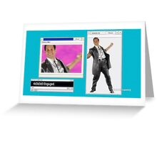 4d3d3d3 Engaged. Greeting Card